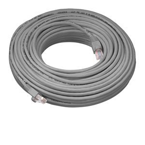 Multicable de red ethernet Cat5e con conector RJ45 - 20 metros - FTP - CCA - Gris - 20m